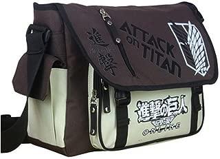 COSPROFE Anime Messenger Bag Japanese Oxford Fabric School Shoulder Cosplay Satchel (A)
