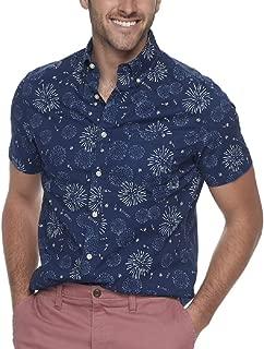SONOMA Men's Flexwear Modern-Fit Poplin Button-Down Shirt