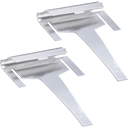 DA61-06796A Refrigerator Drain Tube Clip Evaporator Replacement Part by Sikawai for Samsung-Replaces AP5579885 2683162 PS4145120-2 Pack