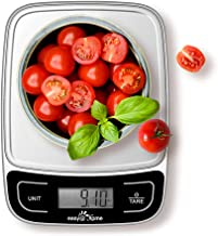 Easy@Home Nourriture Échelle Balance de Cuisine Alimentaire Grande Précision à 0,04oz et 11 lbs