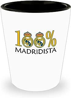 100 Percent Madridista Shot Glass