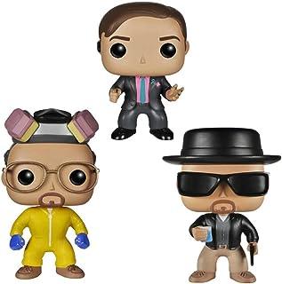 Breaking Bad Heisenberg Saul Goodman #160 #162 #163 Pop Figurines en Vinyle PVC Collection Modèle Jouets