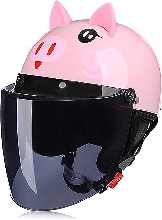 Galatée Casco de Bici para Niños Patinetes Eléctricos Riciclos Skateboarding y Bicis, Viene con una Cálida Bufanda y Visera de Protección Facial