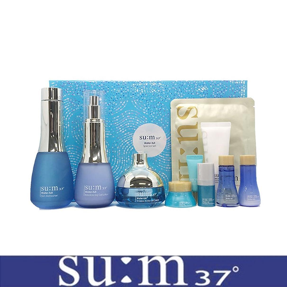 現金出費滑る[su:m37/スム37°] SUM37 Water full 3pcs Special Skincare Set/sum37 スム37 ウォーターフル 3種企画セット+[Sample Gift](海外直送品)
