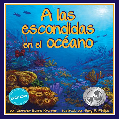 A Las Escondidas en el Océano [Hide-and-Seek in the Ocean] audiobook cover art