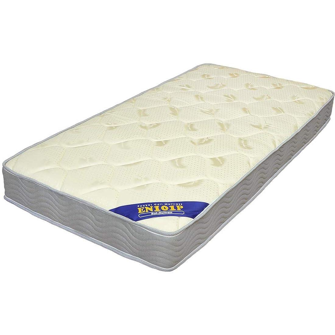 マットレス ポケットコイル EN101P (ダブル(幅140cm)) ベッド ベッドマットレス