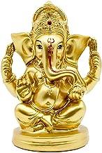 BangBangDa Hindu God Lord Ganesha Idol - Indian Ganesh Sculpture Elephant Statue - India Meditation Mandir Temple Puja Items