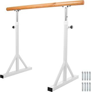 Popsport Ballet Barre 4/5 Feet Adjustable Ballet Bar Freestanding Heavy Duty Dancing Stretching Ballet Barre Portable for Home