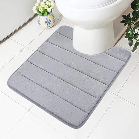 Kleine Wolke Bath Mat Gr/ö/ße WC-Vorleger mit Ausschnitt 55 x 55 cm Polyester Purple