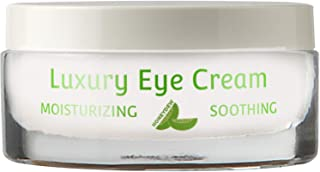 Pure and Natural Eye Cream for Sensitive Skin – Reduces Wrinkles Puffiness Lines and Dark Circles – Hypoallergenic Formula for Men & Women