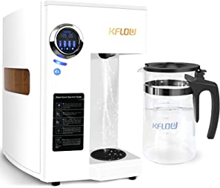 KFLOW Reverse Osmosis Water Filtration System, 4-Stage Filtration with Double RO System, Remove 99.99% of Contaminants Wat...