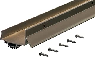 M-D Building Products 69554 1-3/4-Inch by 36-Inch DB003 U-Shaped Door Bottom with Drip Cap, Bronze