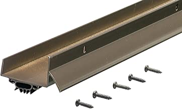 M-D Building Products 69562 1-3/4-Inch by 48-Inch DB003 U-Shaped Door Bottom with Drip Cap, Bronze