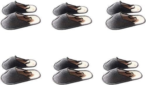 Museo Pantuflas con cinta de goma en el talón handwerker Guantes überschuh, 6 Paar