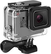 Waterproof Case for GoPro Hero 7 Black Hero 6 Hero 5 Hero 2018 45M Rhodesy Underwater Housing with Bracket Accessories for GoPro Hero7 Hero6 Hero5 Hero Action Camera