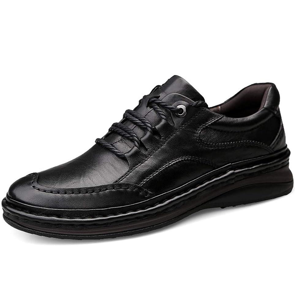 回答谷ちらつき安全靴 作業靴 シューズ 革靴 本革 紳士靴 レースアップ メンズ モカシン カジュアル アウトドア