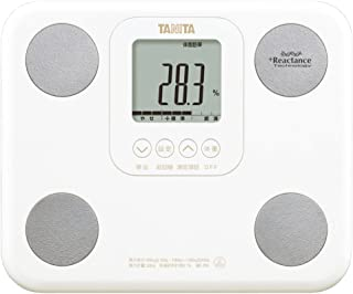 タニタ 体組成計 BC-751-WH(ホワイト) 体内年齢表示/筋肉量測定/A4サイズ・880gの小型軽量モデル