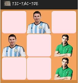 Ronaldo Vs Messi Tic Tac Toe