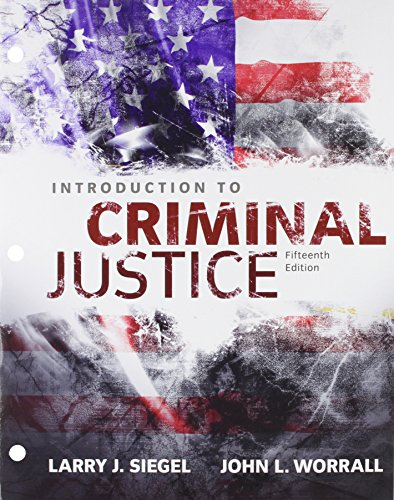 Bundle: Introduction to Criminal Justice, 15th + LMS Integreated for MindTap Criminal Justice Printed Access Card