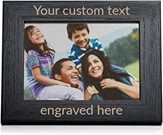 Lifetime Creations Create Your Own Personalized Picture Frame - Black (5