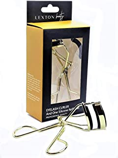 New Lexton Beauty Perfect Eyelash Curler. Fits All Eyes And Gives A Lasting Curl. Gold