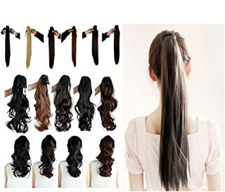 Haironline Clip in Ponytail Extensions Jaw Claw Pony Tail Clip in Hair Extensions One Piece 21