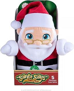 The Elf on the Shelf Santa Says Talking Plush Toy