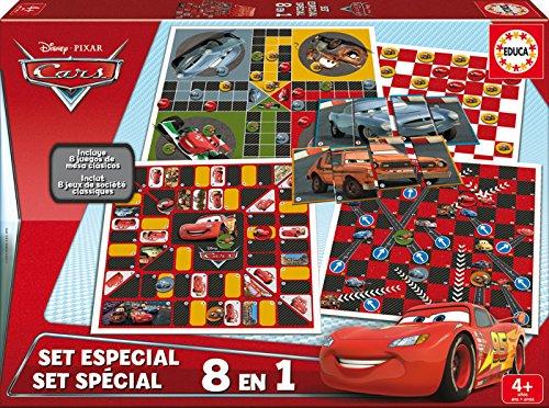 Educa Borrás Coffret Jeux Société Cars, 26.7 x 26.7 x 4.1 (16388)