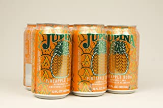 Jupina Soda Cans, 12-Ounce Pack of 6