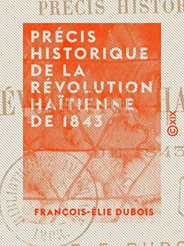 Istorijski rezime Haitske revolucije 1843. godine