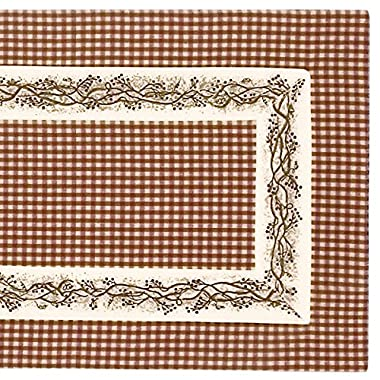 The Country House Collection Burgundy Berry Vine 54  Table Runner