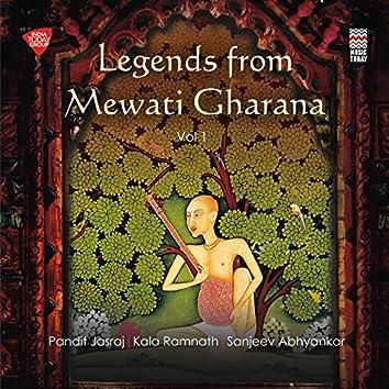Legends from Mewati Gharana, Vol. 1