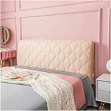 Bed Head Cover Furniture Sofa King Size Protector Dustproof Slipcover Stretch Solid Color Headboard for Bedroom Decor (Col...
