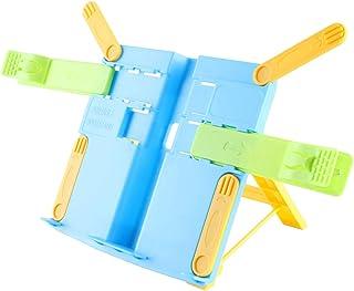 Kids Book Stand for Desk, Portable Adjustable Book Holder fo