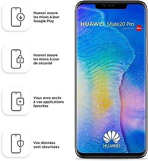 "HUAWEI Mate 20 Pro LYA-L29 (128GB, Dual-SIM, Android, 6.39"" inch) Factory Unlocked 4G/LTE Smartphone (Black) - Internation..."