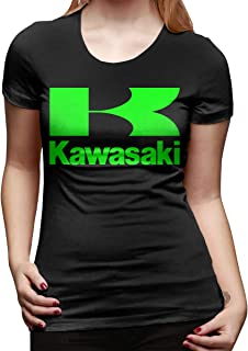 VXCMISDF Kawasaki Racing Sport Ninja Bike JDM Turbo Motocross Women's T-Shirt