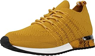 La Strada 1802649 Sneaker Ocre Knitted
