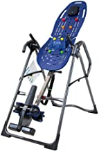 Teeter EP-960 LTD Inversion Table, 3rd-Party Safety Certified, Precision Engineering, with Extended Ankle Lock Handle and Better Back Accessories (Renewed)