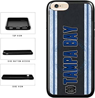 BleuReign(TM) Hockey Team Hashtag Tampa Bay #TampaBay TPU RUBBER SILICONE Phone Case Back Cover For Apple iPhone 8 and iPhone 7