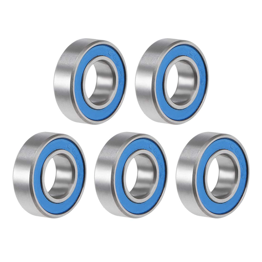 Sales results No. 1 uxcell 688-2RS Deep 25% OFF Groove Ball Bearing Sealed A Double 8x16x5mm