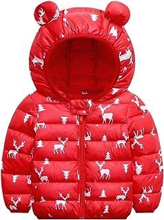 Joe Wenko Baby Boys Girls Down Alternative Reflective Hoodie Jacket,18M-5T