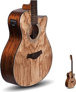 سری Kadence Acoustica ، چوب خاکستر گیتار نیمه آکوستیک با اکولایزر