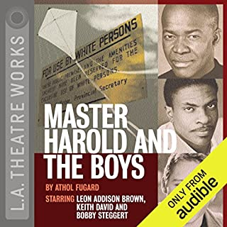Master Harold and the Boys audiobook cover art