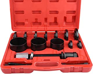 Qiilu Drive Hub Bearing Removal, Car Front Wheel Drive Hub Bearing Removal Disassembly Assembly Tool Puller Kit