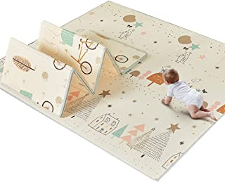 GUORRUI Foam Puzzle Mat Infant Crawling Mat Crawling Mat Foldable Child Carpet XPE Plus Thick Household Available On Both ...