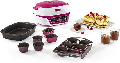 Tefal Cake Factory Delices, Machine intelligente à gâteaux, Appareil Cuisson, Pâtisserie, Muffins, Moules CreaBake inclus,...