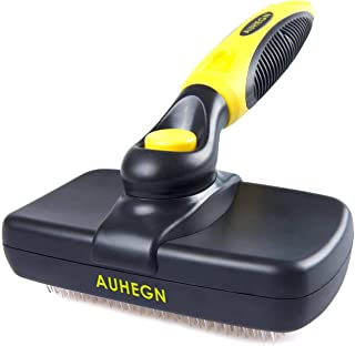 AUHEGN Brushes for Pets Pet Grooming Brush - Pro Quality Self Cleaning Slicker Brushes for Dogs and Cats -Shedding Grooming Tools