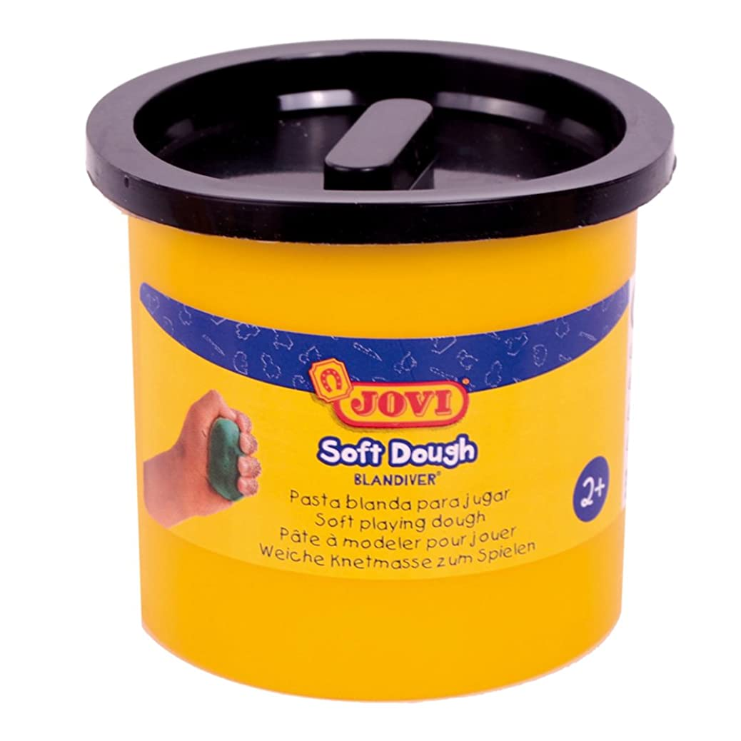 Jovi?–?Soft Dough blandiver, Case of 5?Jars, 110?g, Black (45010) httyrvhqfo