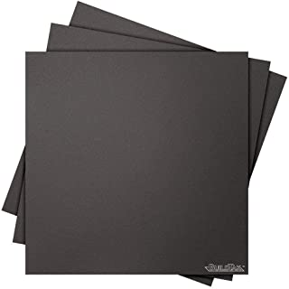 "Buildtak BT16X16-3PK Impression 3D Construire Surface, 16"" x 16"", Carré, Noir (Paquet de 3)"