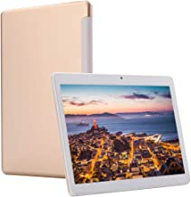 $185 » 4G LTE Phablet 10 Inch Tablet Android 9.0 Deca-Core Processor 2.8GHZ 6GB+64GB 1920x1200 IPS HD Dual Camera Unlocked Dual SIM WiFi GPS Google Play (Gold)